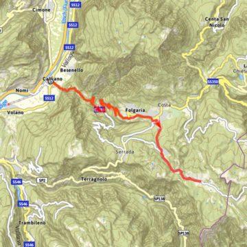 Difficoltà: Impegnativo | Durata: 4 ore | Lunghezza: 18,5 km | Altitudine massima: 1618 m | Dislivello in salita: 1464 m | Dislivello di discesa: 46 m